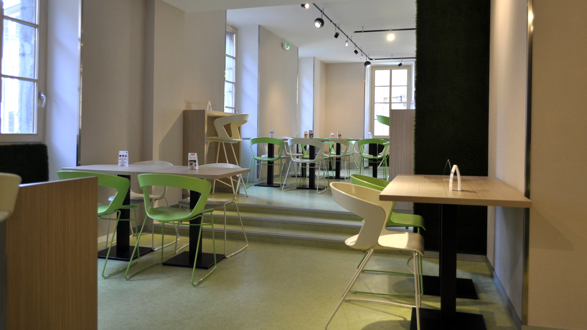 Concept restauration rapide -Rue du Paquier - Annecy