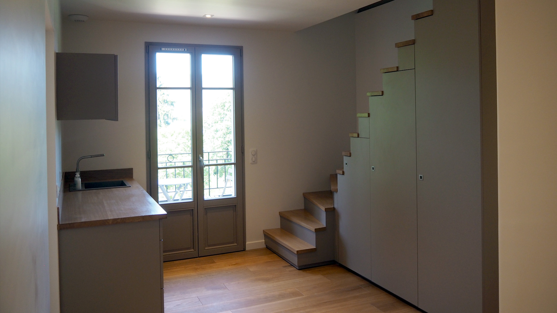 Id es travaux realisations r novation sur annecy r novation apparte - Idee renovation maison ...